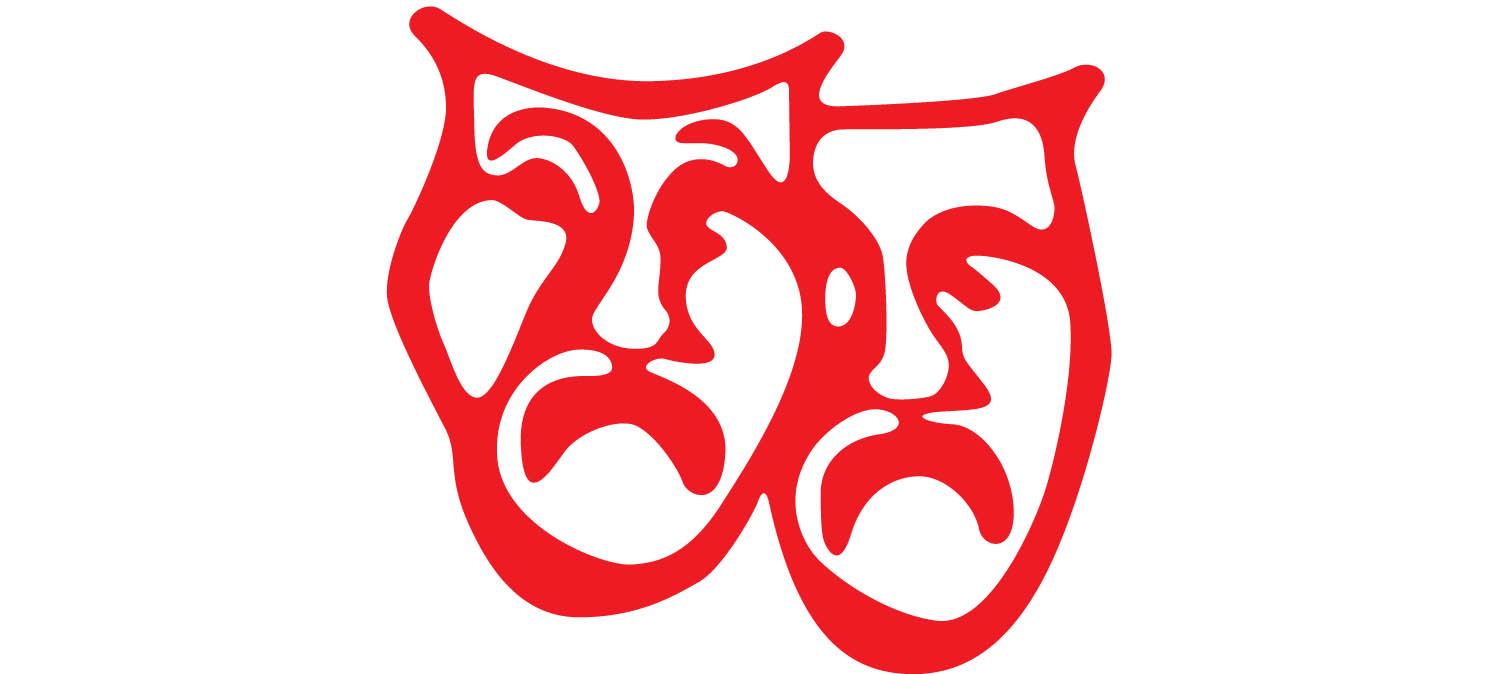 two-tragedy-mask Logo
