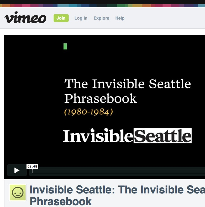 The Invisible Seattle Phrasebook