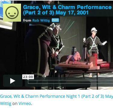 Grace, Wit & Charm Videos