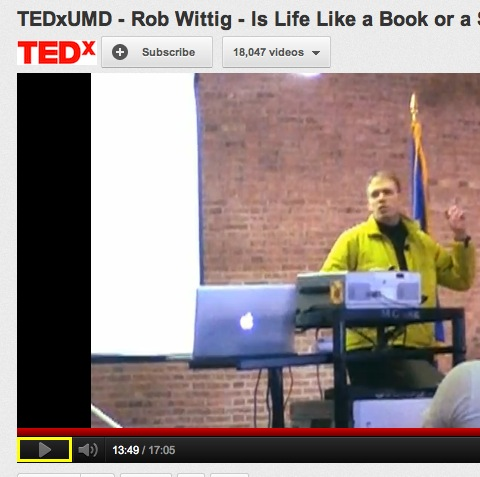 TEDx Talk: Is Life Like a Book or a Smartphone?